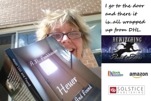 reading my own book blog tour