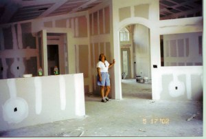 """Dream House. """"We built it in Delray Beach, Florida, and artist and writers paradise."""""""
