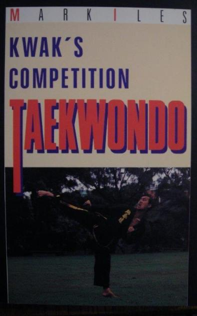 kwaks-competition-taekwondo-book-cover